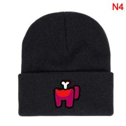 Game Among Us Knitted Hat Cap Model Among Us Game Hip Hop Hat Ke Style 4
