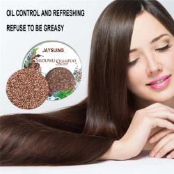 Hair Darkening Shampoo Bar Soap Hair Shampoo Polygonum Essence H