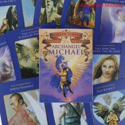 Hidden Worlds Desk Tarot Cards Party Game Divination Party Guid Archangel Michael