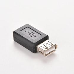 Hot Sale USB 2.0 A Female to Micro USB B 5 Pin Female Data Adapt