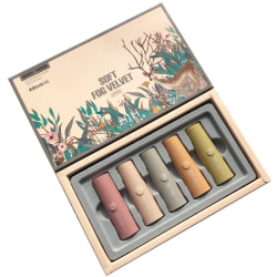 Matte Velvet Lipstick Set With Thin And Durable Texture And Sma A