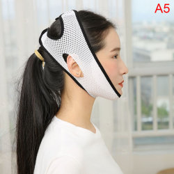 New Powerful Thin Face Bandage Sleep Get Rid Of The Double Chin black