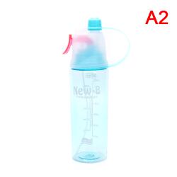 Massiv plastspray Cool Summer Sport Water Bottle Portable Clim