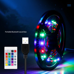 Waterproof LED Strip Lights Controlled Light Strip Kit Rope Dec 5M