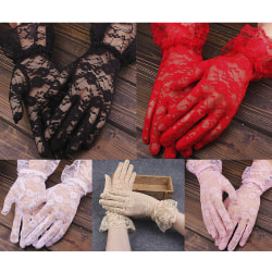 1 pair Women bridal evening wedding party prom driving costume l Pink