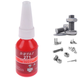 1 Pcs 271 10g High Strength Threadlocker Anaerobic Adhesive Glu one size