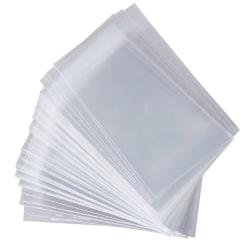 100st Kort Protector Star Card Transparent Oförseglad Game Slee one size