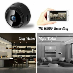 1080P Mini IP WIFI Camera Camcorder Wireless Home Security DVR N One Size