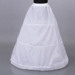 1Pc Kvinnor 3 hoop crinoline bröllopsklänning brudklänning petti One Size