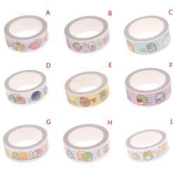 1pcs/lot Cartoon Washi Tape DIY Japanese Paper  Decorative Adhes G