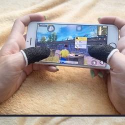1PCS Mobile Game Controller Finger Anti-Sweat Reusable Sweatproo 6
