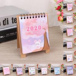 2020 Mini Multi-function Scheduler Table Planner Notebook Deskto J