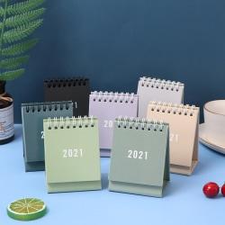 2021 Mini Simple Desk Calendar Desktop Calendar Daily Schedule T Coffee