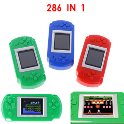268 IN 1 Game console With 268 Different Games 2 Inch Screen Col Red