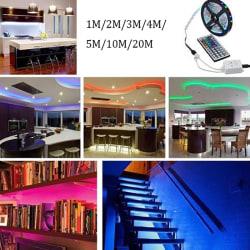 3.28-65.61ft 3528 SMD RGB 600LEDs LED Light Strip+44Key Remote C 20m +