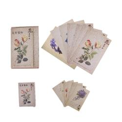30 Sheets/Set Retro Plant series Postcard Greeting Card  Message S
