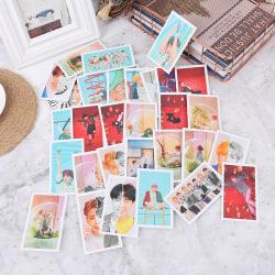 30Pcs/set KPOP BTS BT21 Girls Kill This Love Album Photo Cards L 5