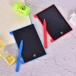 """4.4"""" LCD Writing Tablet Handwriting Pads Portable Electronic Tab Blue"""
