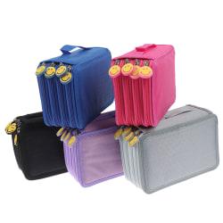 4 compartments pencil case pencil case pen bag pencil case NEW  Purple