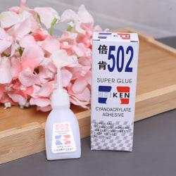 502 Super Glue Cyanoacrylate Instant Strong Adhesive Fast bondi Onesize