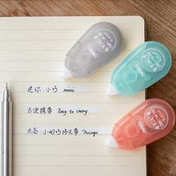 5m Roller transparent cute correction tape stationery office sch onesize