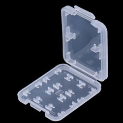 8 Slots Storage Case Box Holder For Micro TF SDHC MSPD Memory Ca one size