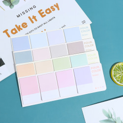 80sheets Sticky Notes Index Memo Pad Bookmarks Cute Scheduler Pa N2