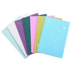A5 PVC Self Healing Cutting Mat Craft Quilting Grid Lines Printe green