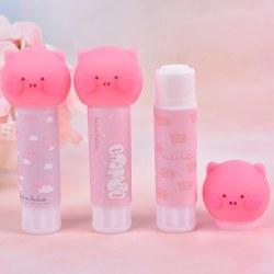 Cartoon Animal Pig Strong Adhesive Solid Glue Sticks Students Sc onesize