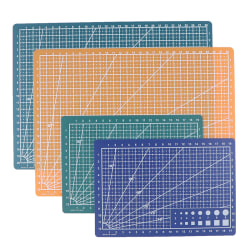 Cultural and educational tools A4A5 double-sided cutting pad art 2(A5 Green)