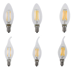 E14 LED Candle Bulb E14 C35 Filament Light LED Lamp Replace Inca B3