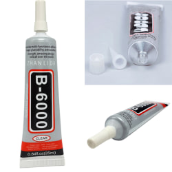 E6000 Waterproof Industrial Strength Glue Adhesive Jewelry Nails clear 25ml