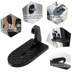 Foldable Vehicle Access Roof Of Car DoorStep Step To Easily Roof one size