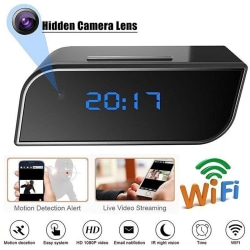 HD 1080P Wireless Wifi IP Spy Hidden Camera IR Cam Motion Securi one size