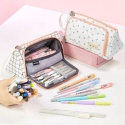 Large Capacity Pencil Case Pencilcase School Pen Case Pencil Bag 6