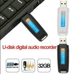 Mini USB Digital Pen Audio Voice Recorder Dictaphone 32 GB Flash A2