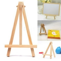 Mini Wooden Cafe Table Number Easel Wedding Place Name Card Hold wooden 15*8cm