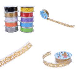 NEW Roll DIY Washi Paper Lace Decorative Sticky Paper Masking Ta