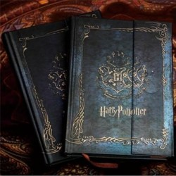 New Version Vintage Harry Potter diary schedule planner travel n Blue 16.5*11cm