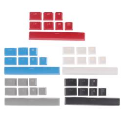 PBT Keycaps For Corsair K65 K70 K95 Logitech G710 Gaming Keyboar Blue