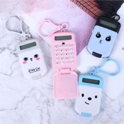 Portable Calculator Pocket Size Creative Keychain Calculator Of