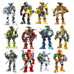Star warrior soldier bionicle hero factory robot figure building E