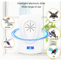 Ultrasonic Pest Reject Electronic Rat Mice Repeller Anti Mosquit EUR