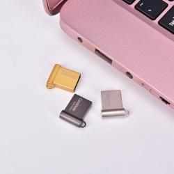 USB 2.0 Flash Drive Memory Stick Mini Metal Storage vehicle U-Di Black 4GB