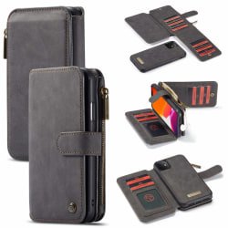 iPhone 11 CaseMe Plånbok Magnet splittläder  Svart Svart