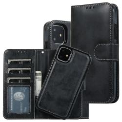 iPhone 11 Plånbok Magnet Svart Svart