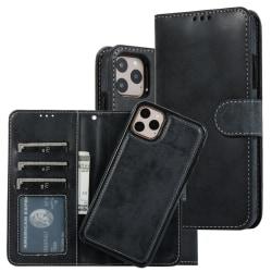 iPhone 11 PRO Plånbok Magnet Svart Svart