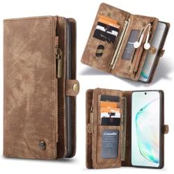 Samsung S20 CaseMe Plånbok Magnet Läder  Coffee Espresso
