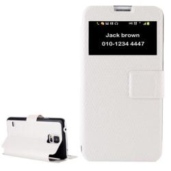 Samsung S5 Nummerfodral Vit