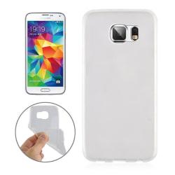 Samsung S6 Vit Skal TPU